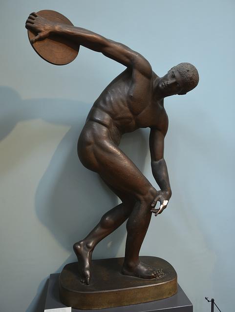 Oxford 2013 – Ashmolean Museum – Discus thrower