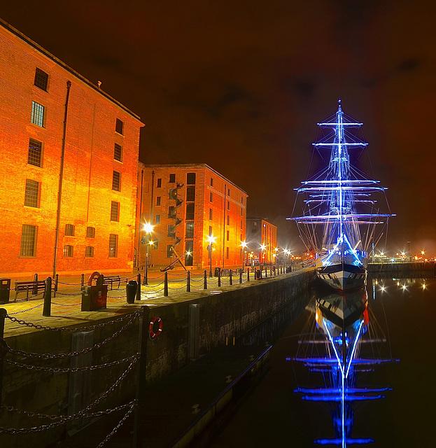 STAVROS S NIARCHOS in Albert Dock, Liverpool
