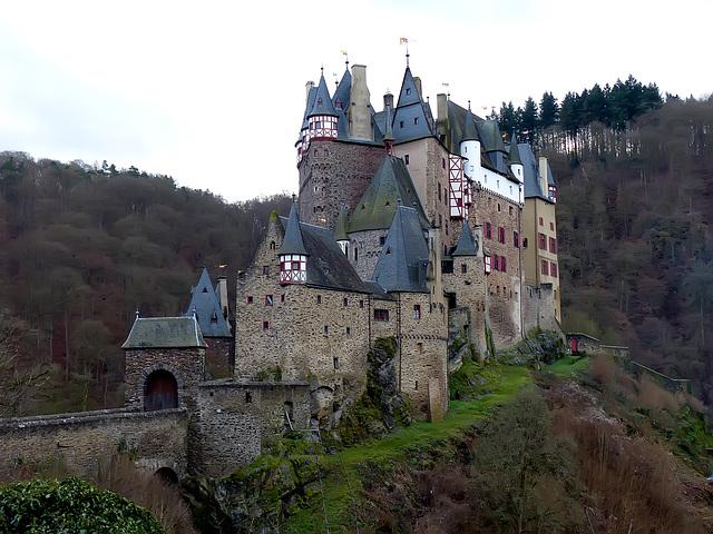 Burg Eltz - Germany. Castle in reality