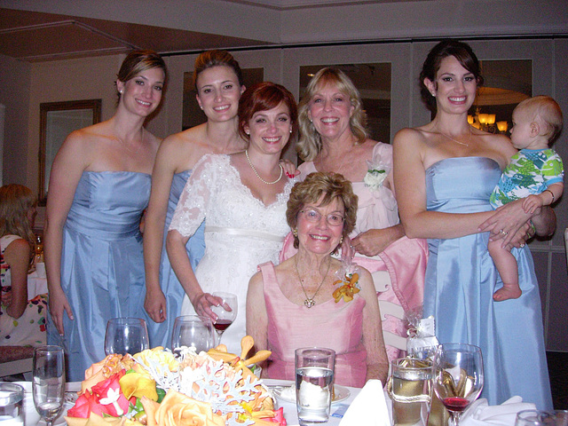 Elise's and Todd's Wedding, August 2008