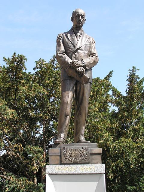 Edvard Beneš Denkmal in Prag