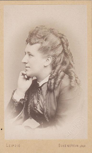 Minna Peschka-Leutner by Eulenstein