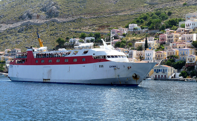 Symi- Arrival of Trippers from Rhodes