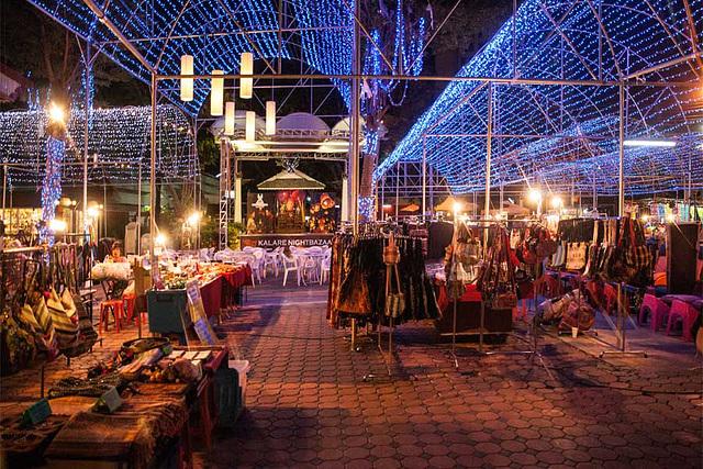 Night bazaar at Chiang mai