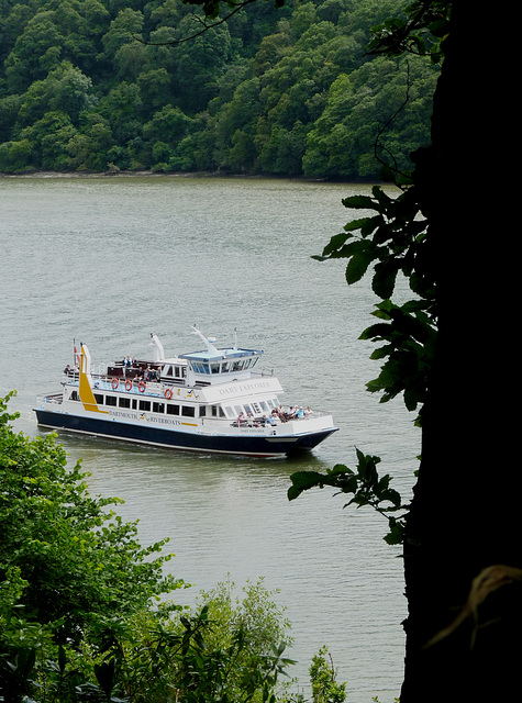 Dartmouth Ferry Passing Greenway