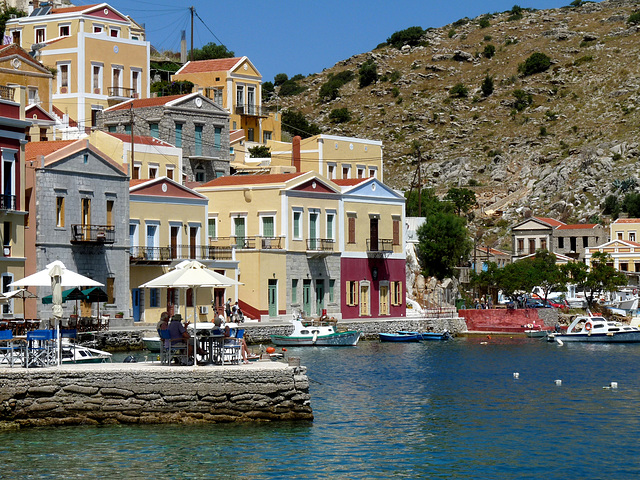 Yialos, Symi- Neo-classical architecture