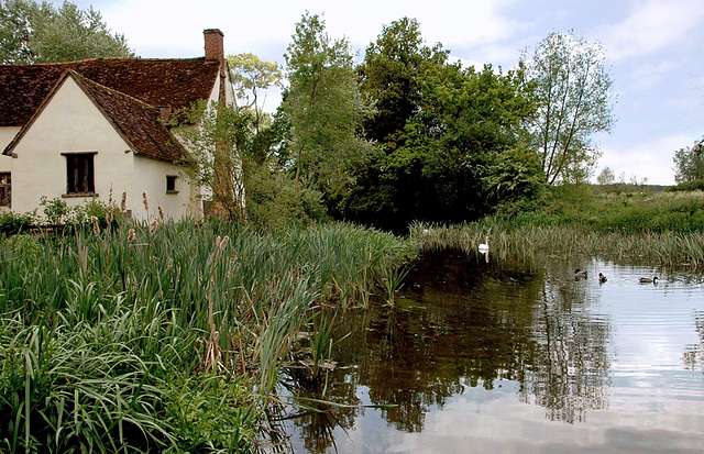Flatford Mill, Suffolk.