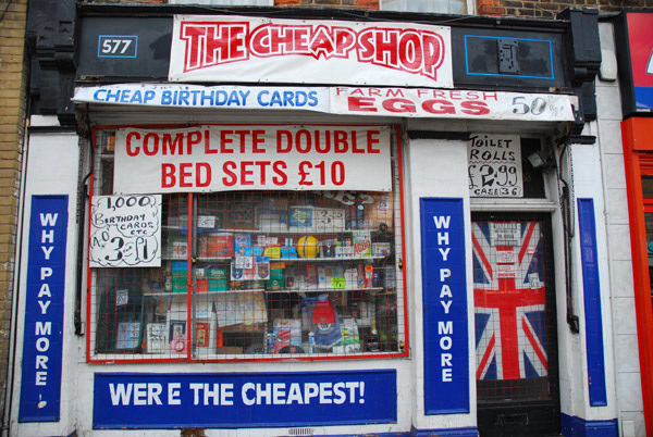 The Cheap Shop