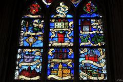 Détail des litanies de la Vierge - Eglise N.-D.-des-Marais à la Ferté-Bernard - Sarthe