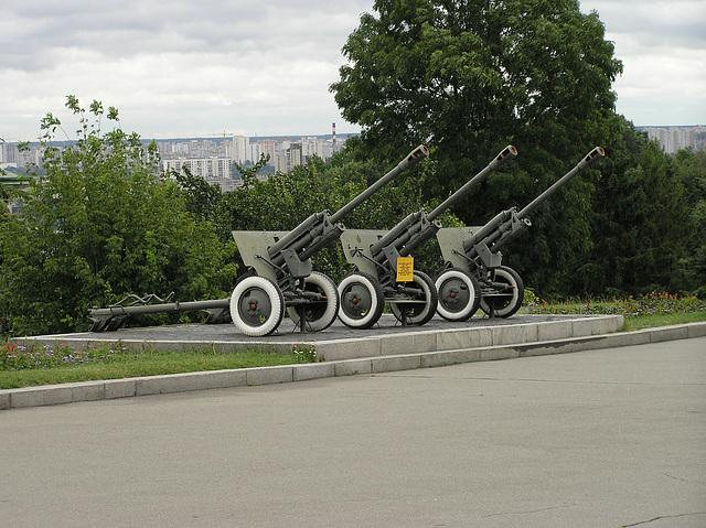 ZiS-3 76-mm Kanone