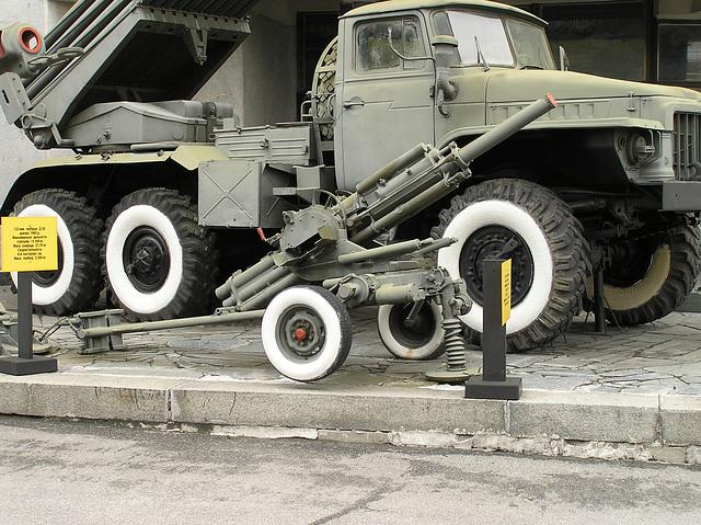 2B9 Wasiljok 82-mm Mörser