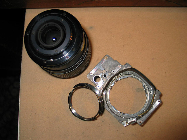 M42 Lens to Pentax PK conversion