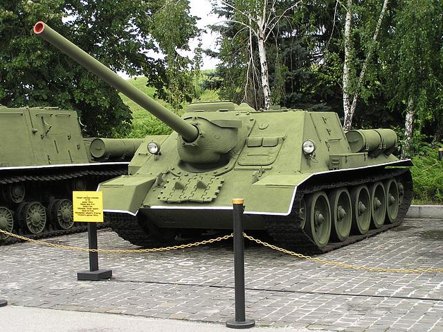 SU-100 100-mm Kanone