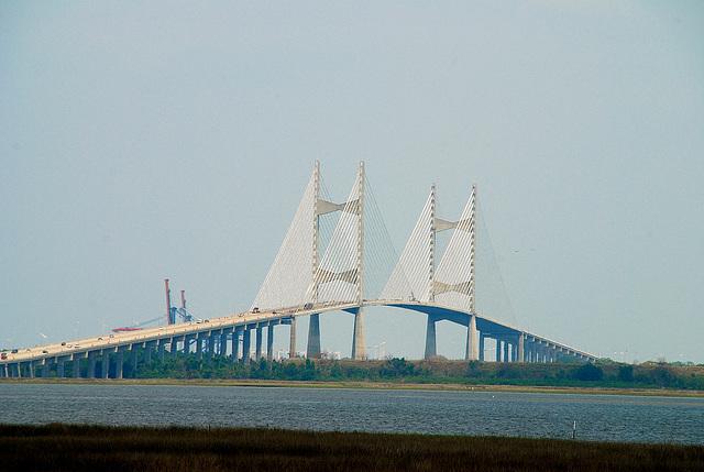 North Dames Point Bridge Jacksonville, Florida