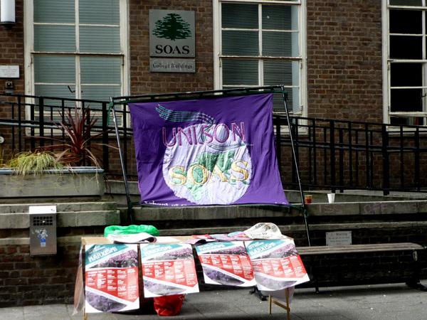 SOAS Unison banner