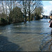 Botley Road awash