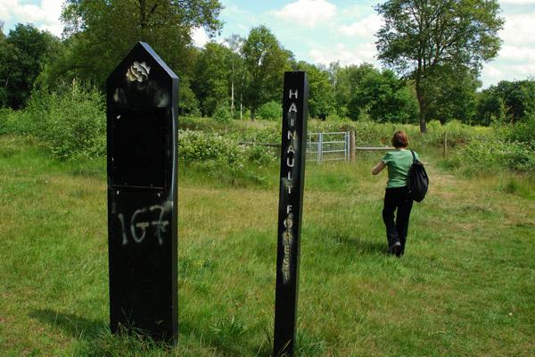 Entering Hainault Forest