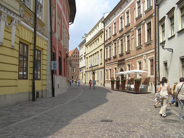 Kraków -- ul. Kanonicza