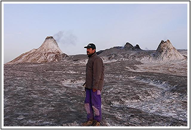 Au sommet du volcan Ol Doinyo Lengaï
