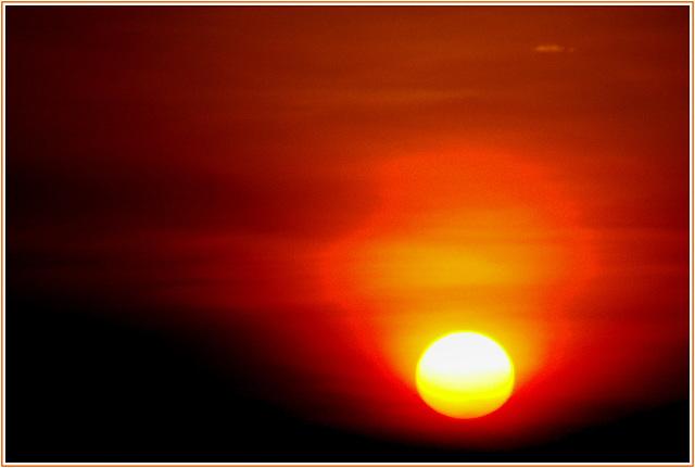 Levé de soleil du sommet