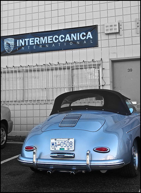 At Intermeccanica, New Westminster, BC