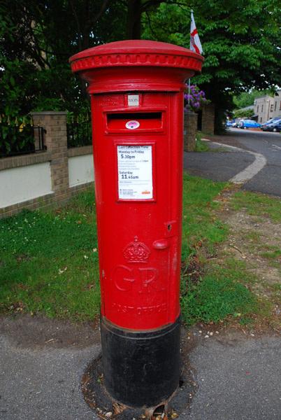 GR letter box
