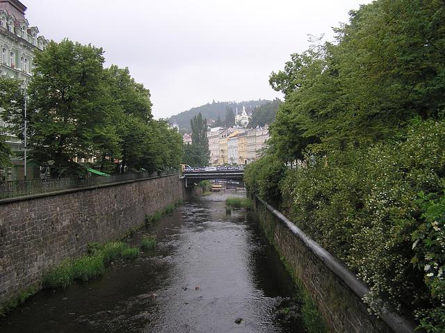 Teplá Fluß in Karlsbad