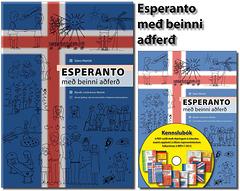 Islanda eldono de Esperanto per rekta metodo