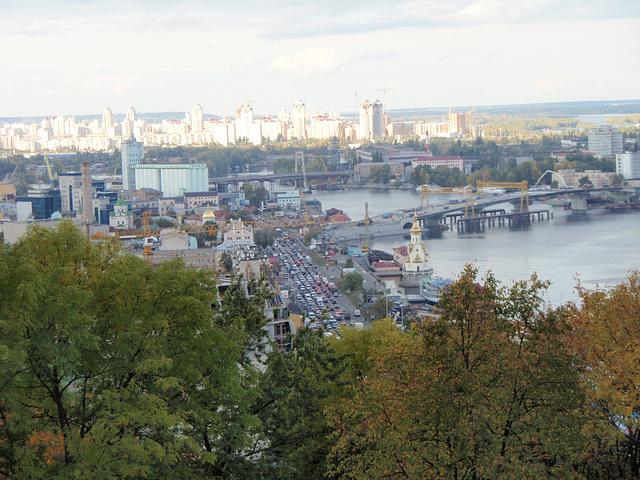Kiew. Dnepr. Podol