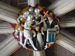 Exeter Cathedral- Ceiling Boss