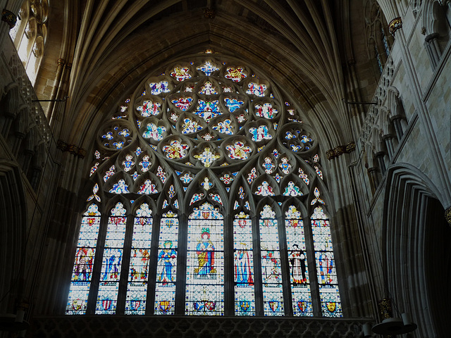 Exeter Cathedral- West Window