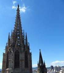 Sur les toits de la cathédrale