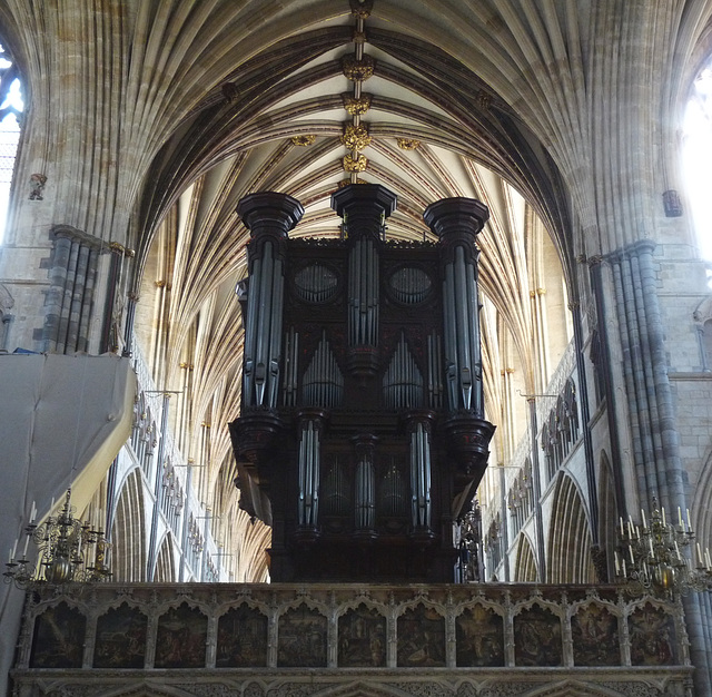 Exeter Cathedral- The Organ