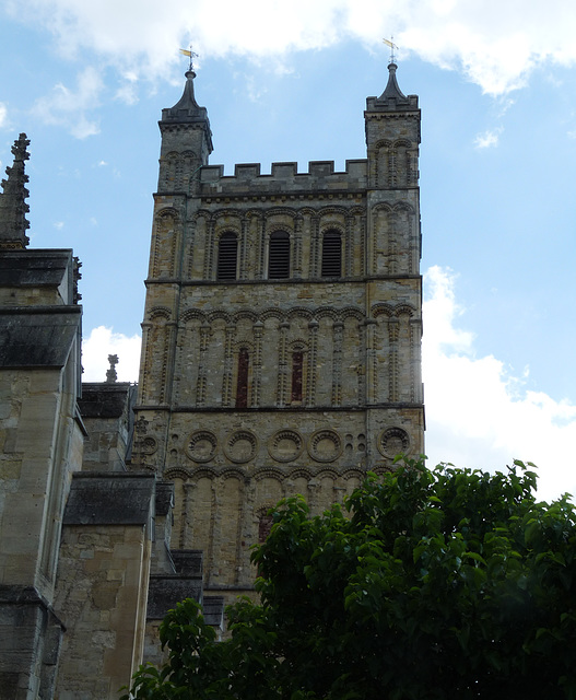 Exeter Cathedral- South Tower (Norman)