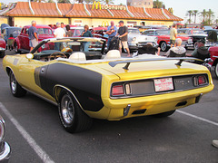 1971 Plymouth Hemi 'Cuda Convertible (clone)