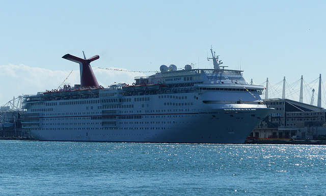 Carnival Ecstasy at Miami - 24 January 2014