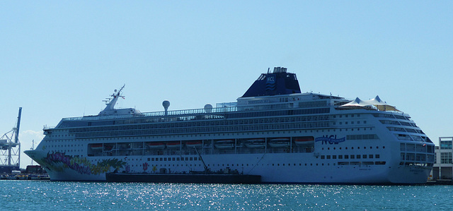 Norwegian Sky at Miami - 24 January 2014