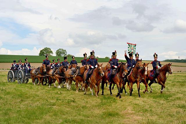 Parade des Milices Vaudoises...