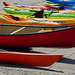 Exeter Quay- Colourful Canoes