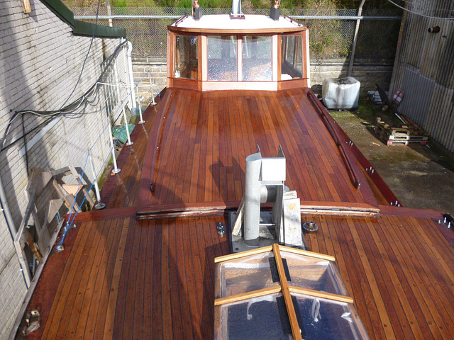 MF - deck almost finished