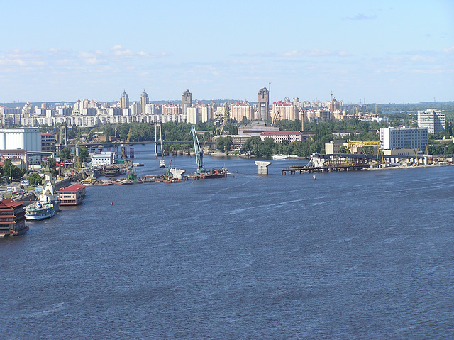Kiew. Dnepr