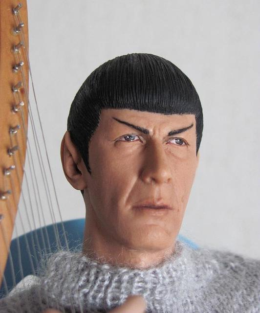 Spock closeup
