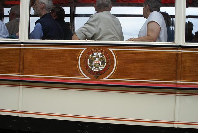 BM Tram 31 - Blackpool logo