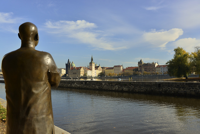 A monk's perspective of Prague