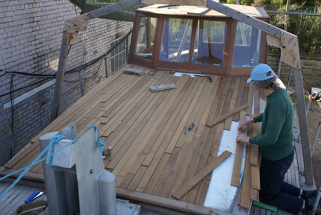 MF - cabin roof dry fitting