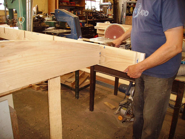 A&P - fit side boards