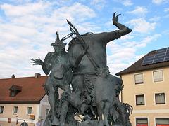 Oberpfälzer Sagenbrunnen