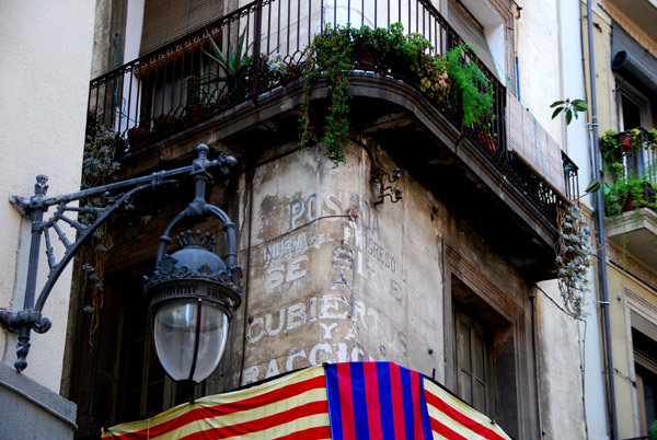 Ghost sign Barcelona