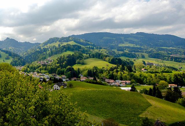 La verte Gruyères