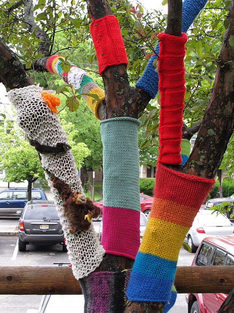 Yarn Storm Tree